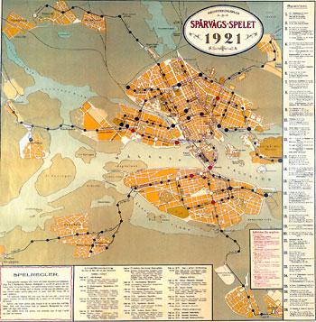 Spårvägsspelet 1921