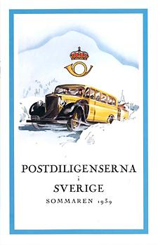 Postdiligenserna i Sverige sommaren 1939