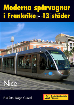 Moderna spårvagnar i Frankrike